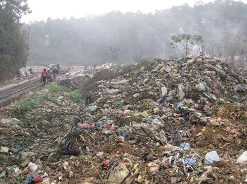 Hình ảnh về ô nhiễm đất 4