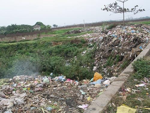 Hình ảnh về ô nhiễm đất 6