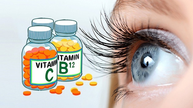Bổ sung vitamin để giúp mắt khỏe hơn