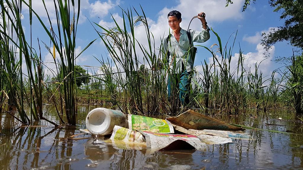 Hoạt động sản xuất nông nghiệp gây ô nhiễm môi trường