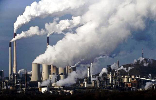 Ô nhiễm do hoạt động sản xuất công nghiệp
