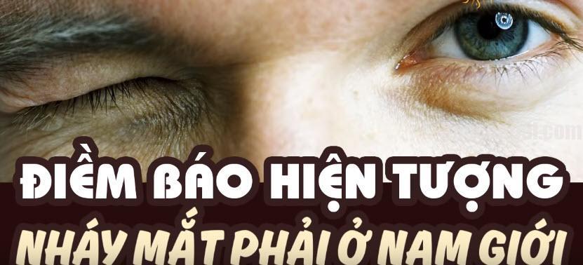 Nháy mắt phải nam là hiện tượng phổ biến ở nam giới