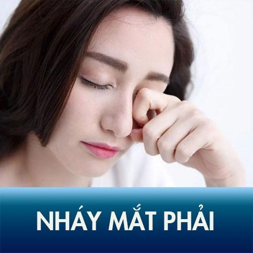 Nháy mắt phải nữ là hiện tượng thường gặp ở nữ giới