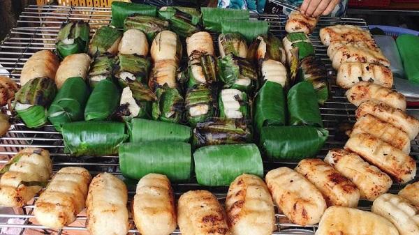 Chuối nếp nướng Phú Quốc
