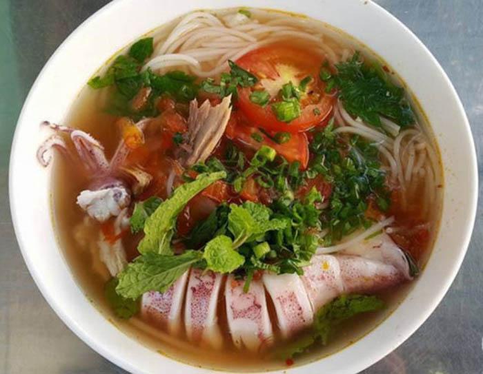 Bún mực Vạn Ninh Nha Trang