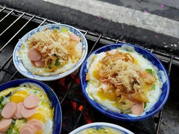 Trứng chén nướng Nguyễn Quang Bích - Hà Nội