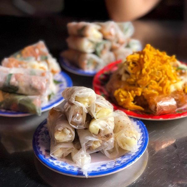 Khu ăn vặt chung cư Ngô Gia Tự - Sài Gòn