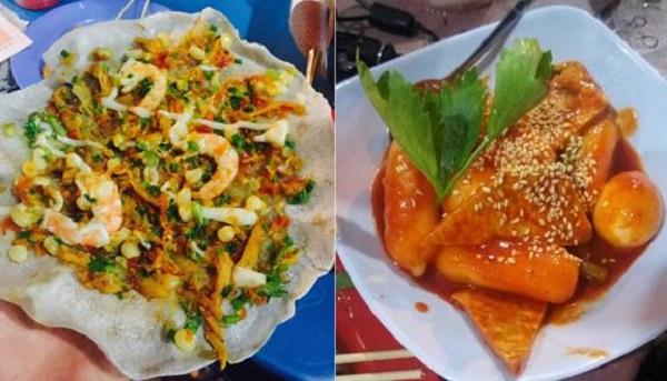 Khu ăn vặt bờ kè Thanh Đa - Sài Gòn