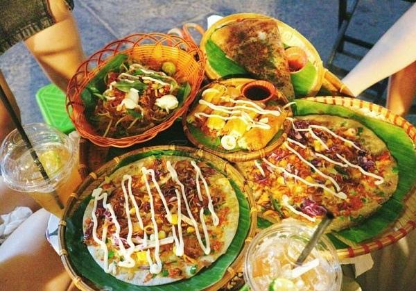 Khu bánh tráng nướng Cao Thắng - Sài Gòn
