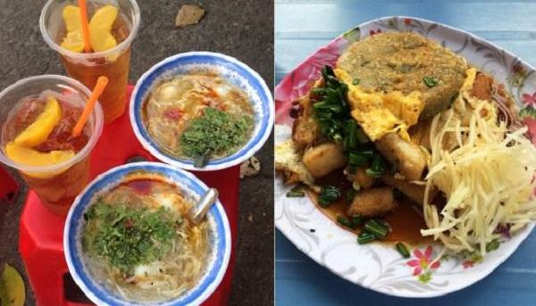 Khu ăn vặt công viên Thiên Phước - Sài Gòn