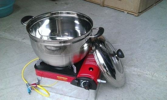 cách làm bắp rang bơ bằng máy 1