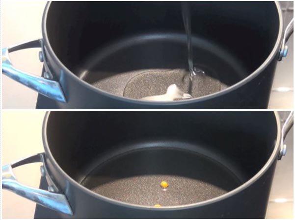 cách làm bắp rang bơ bằng nồi 1