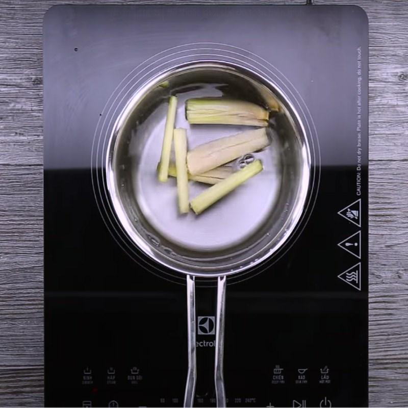 cách làm trà đào cam sả 2