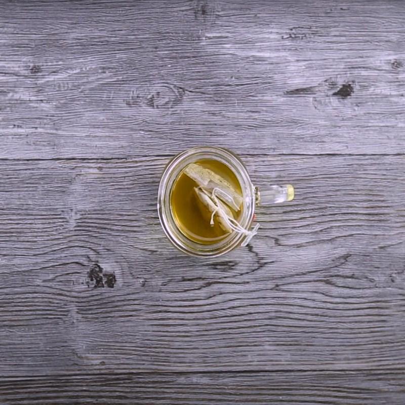 cách làm trà đào cam sả 3