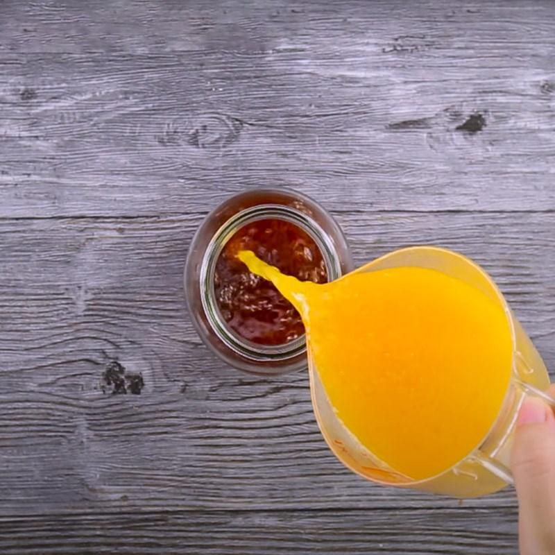 cách làm trà đào cam sả 6