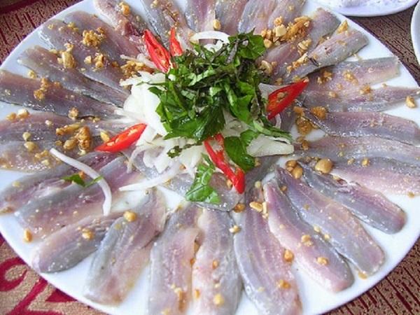 Gỏi cá chích Bình Định