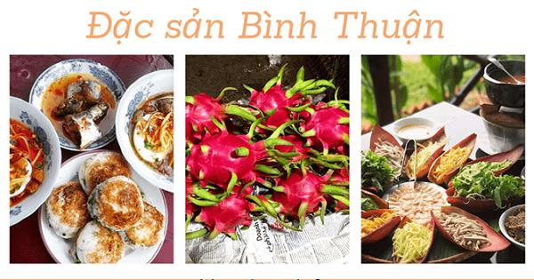 Khám phá đặc sản Bình Thuận