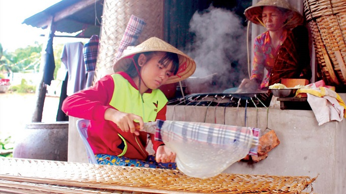 Bánh tráng Thuận Hưng Cần Thơ
