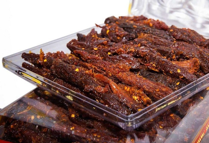 Thịt nai khô Đăk Lăk