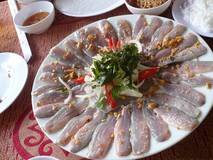 Gỏi cá đục Hà Tĩnh