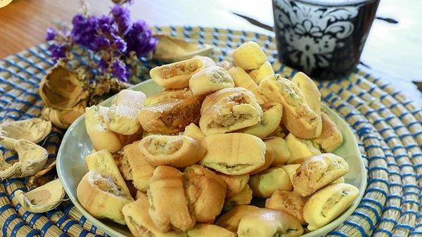 Bánh chả dừa Hải Phòng