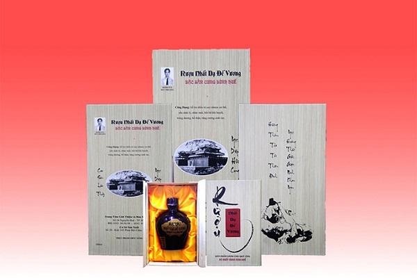 Rượu cung đình Huế Nhật Dạ Đế Vương
