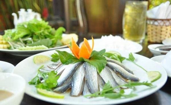 Gỏi cá trích Kiên Giang