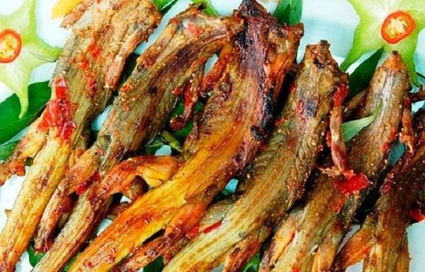 Dông cát nướng muối ớt Bình Thuận