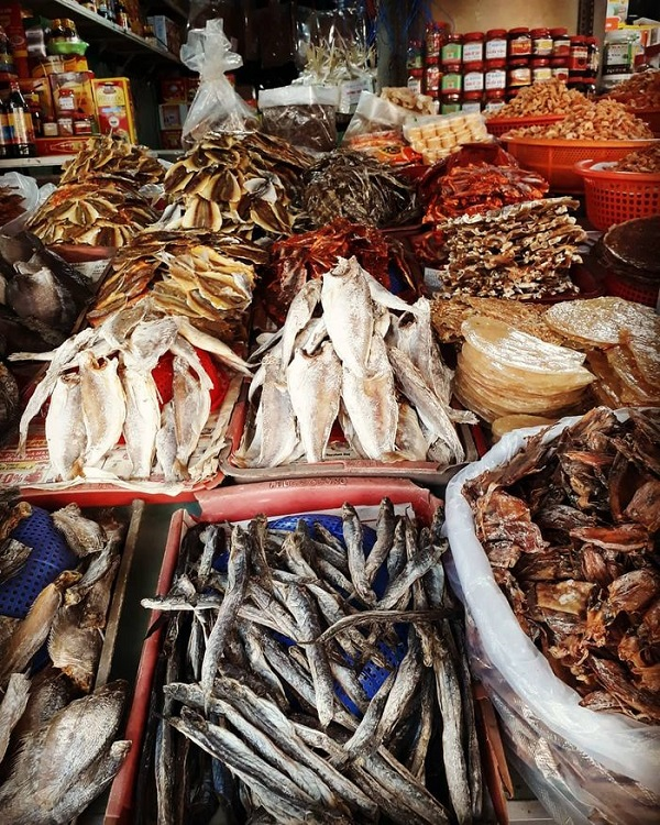 Hải sản khô Bình Thuận