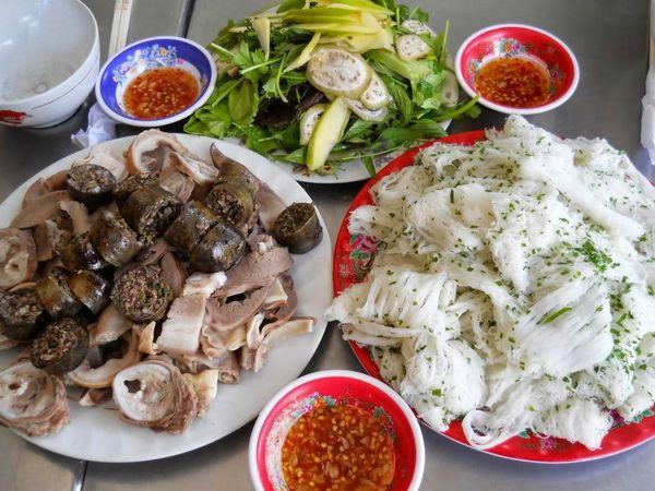 Bánh hỏi lòng heo Phú Long Bình Thuận