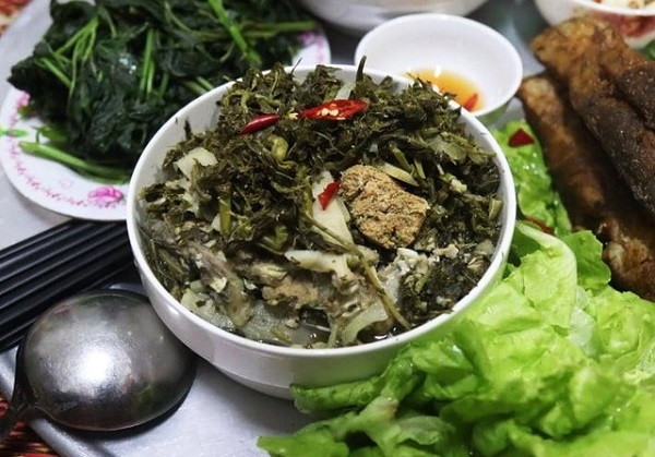 Rau sắn Phú Thọ