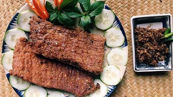 Bò một nắng Phú Yên