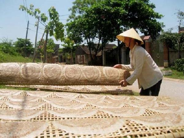Bánh đa Minh Châu Thanh Hóa