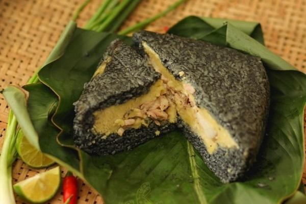 Bánh chưng đen Yên Bái