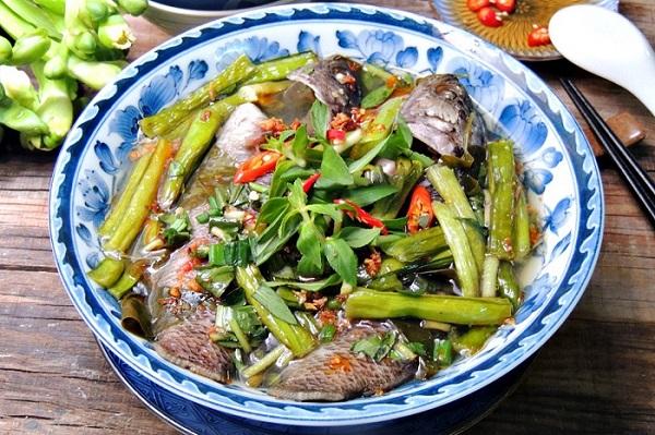 Canh cá rô Hưng Yên