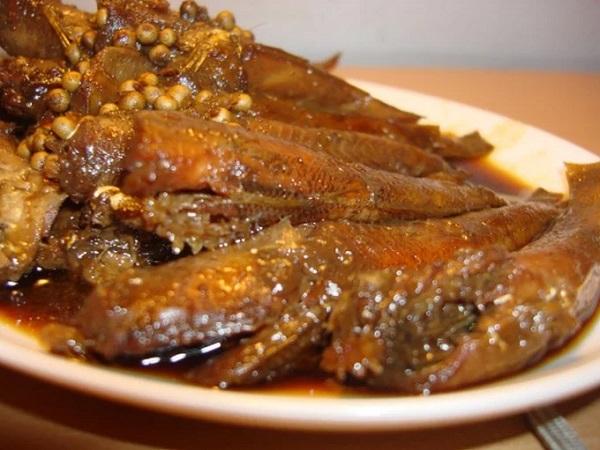 Cá bống kho nước dừa Bến Tre