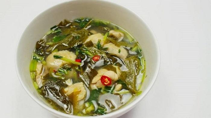 Canh chua lá giang Đồng Nai