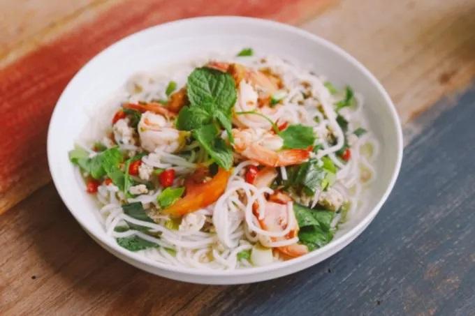 Bún hải sản Đà Nẵng