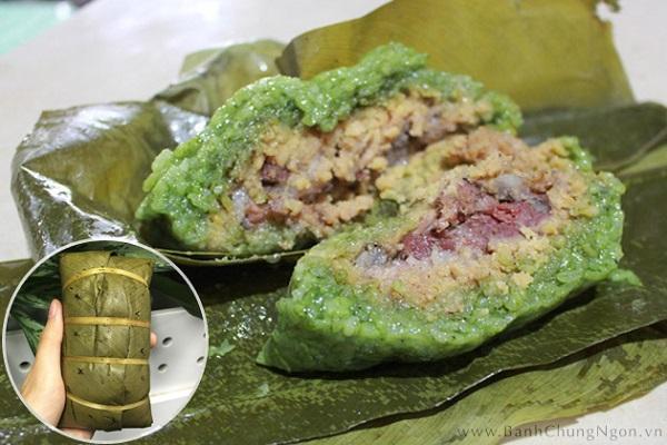 Bánh chưng gù Hà Giang