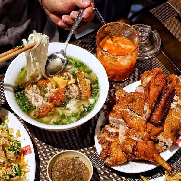 Vịt nướng, phở vịt Lạng Sơn