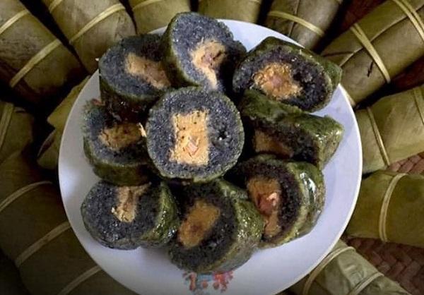 Bánh chưng đen Lạng Sơn
