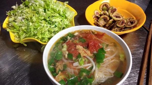 Bún sung Nam Định
