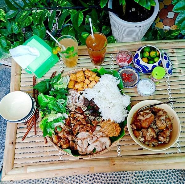 Bún đậu mắm tôm Sài Gòn