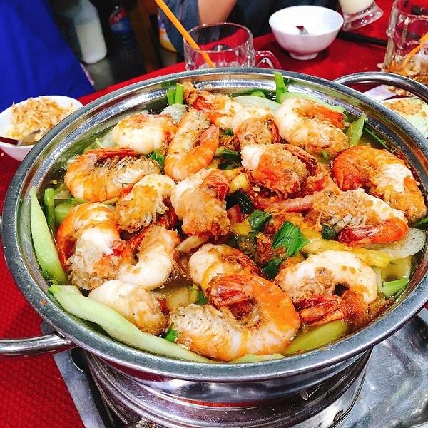 Lẩu tôm 5 Ri Sài Gòn