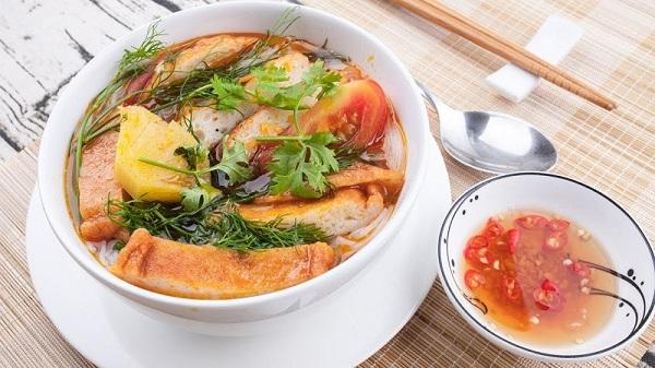 Bún chả cá Sài Gòn
