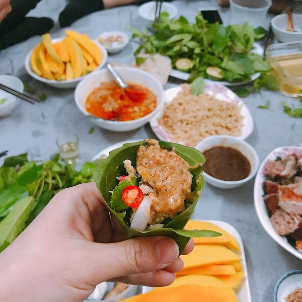 Gỏi cá nhệch Nga Sơn Thanh Hóa