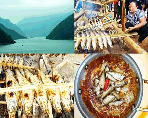 Cá nướng hồ Thác Bà - Yên Bái