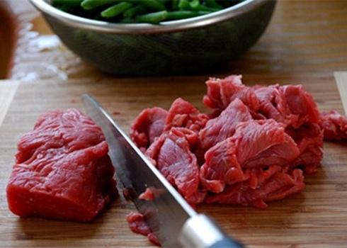 thịt bò xào dứa