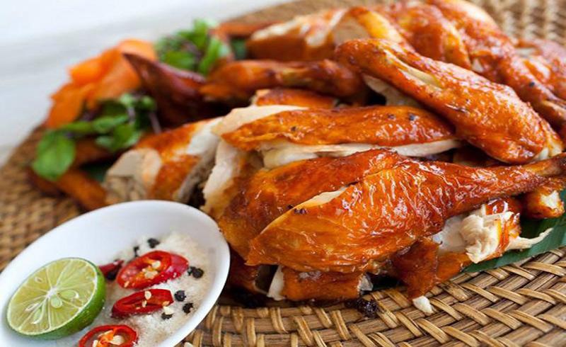 thịt gà nướng 1