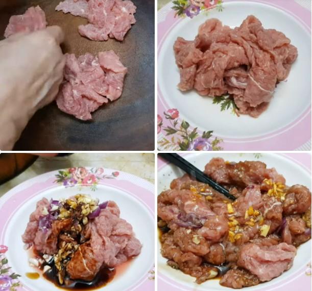 bông hẹ xào thịt bò 3